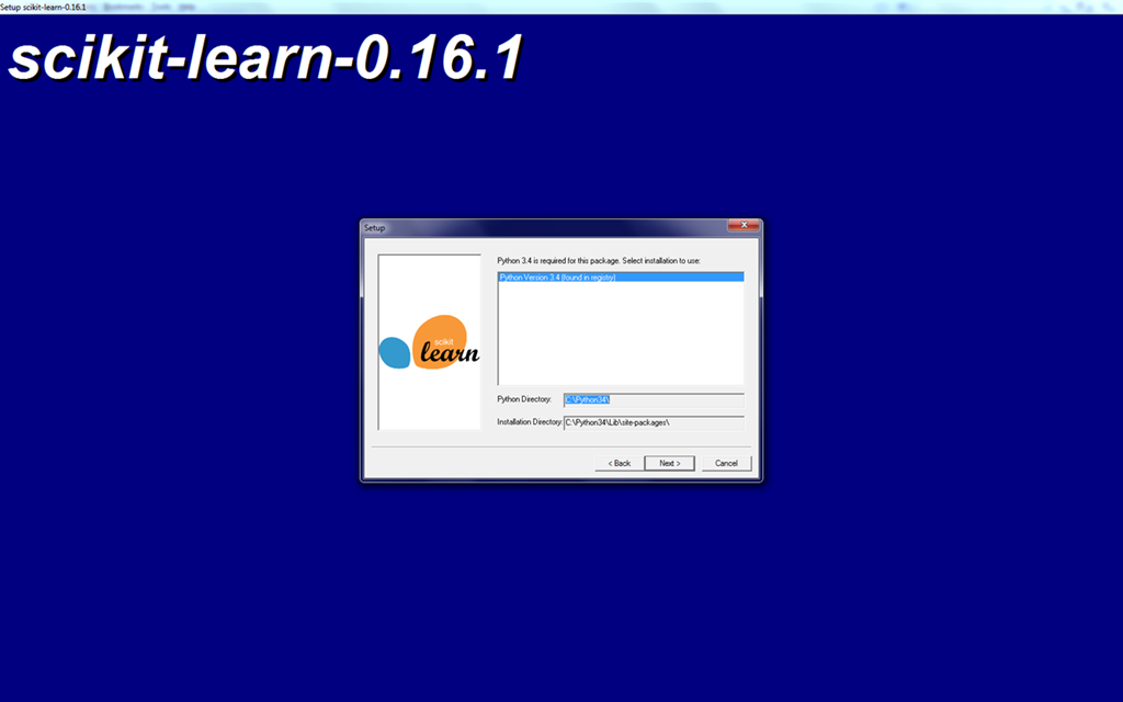 Using Visual Studio 2013 for Python (3 4) with NumPy and