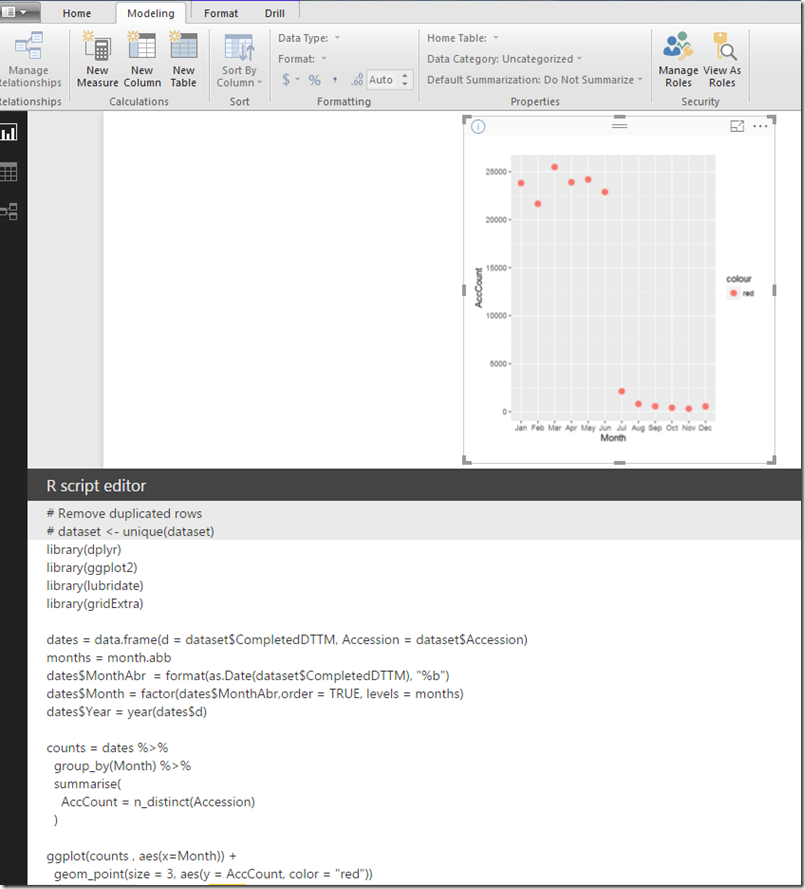 Working with date fields in R and Power BI | Thusitha Mabotuwana\'s Blog